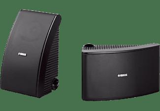 YAMAHA NS-AW592 1 Paar Outdoor Lautsprecher, Schwarz