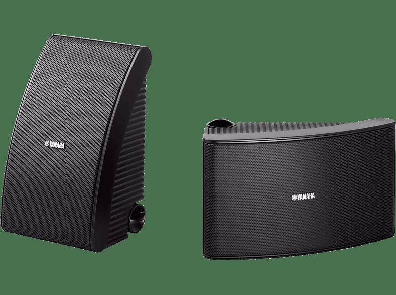 YAMAHA NS-AW592 1 Paar Outdoor Lautsprecher (Schwarz)