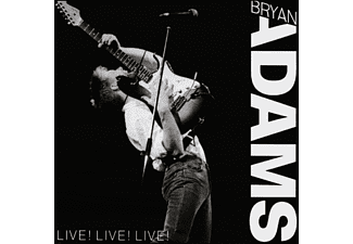 Bryan Adams - LIVE! LIVE! LIVE!  - (CD)