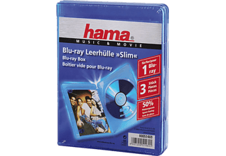 HAMA 51469 BLU-RAY BOX SLIM BLUE - Blu-Ray Box (Blau)