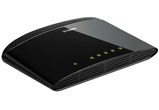 D-LINK DES‑1005D 5‑Port Fast Ethernet Unmanaged Desktop Switch