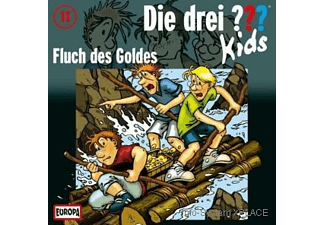 Die drei ??? Kids 11: Fluch des Goldes  - (CD)