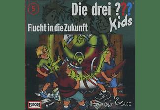 Die Drei ??? Kids 05: Flucht In Die Zukunft  - (CD)