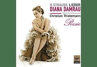 Diana/thielemann/mp Damrau - Poesie: Strauss-Orchesterlieder  - (CD)