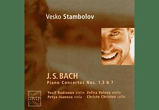 Vesko Stambolov - Klavierkonzerte 1,3 & 7  - (CD)