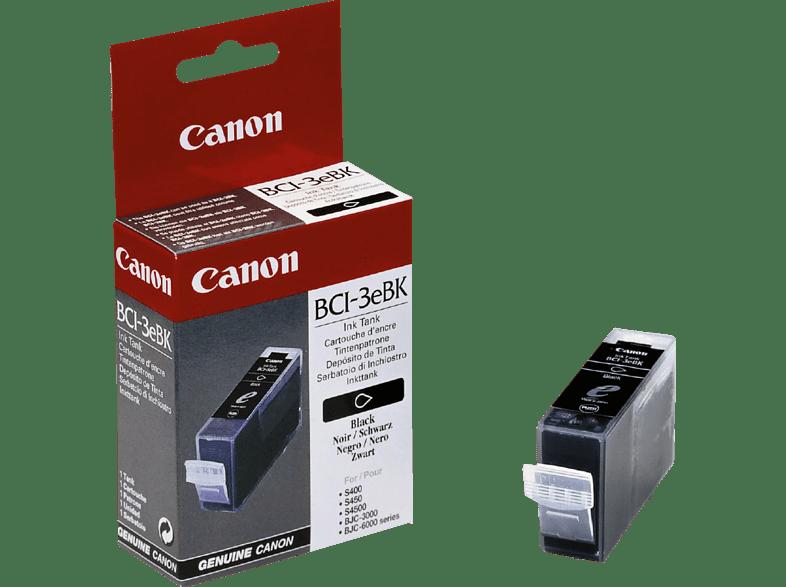 CANON BCI-3 EBK Tintenpatrone Schwarz (4479A002)