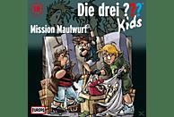 Die drei ??? Kids 18: Mission Maulwurf - (CD)