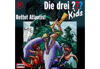 Die drei ??? Kids 17: Rettet Atlantis!  - (CD)