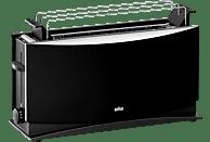 BRAUN HT 550 Multiquick 5 Toaster Schwarz (1000 Watt, Schlitze: 1)