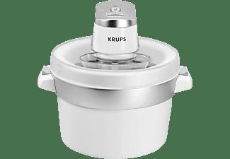 KRUPS Eismaschine Venise Chrom/Weiß