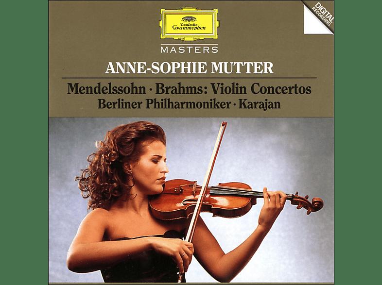 Anne-Sophie Mutter, Mutter,Anne-Sophie/Karajan,Herbert Von/BP - Violinkonzerte [CD]