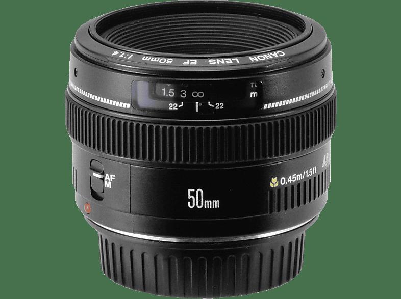 CANON 2515A012AA - 50 mm f/1.4 EF, USM (Objektiv für Canon EF-Mount, Schwarz)