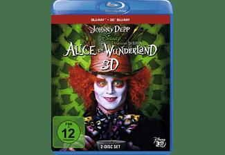 Alice im Wunderland 3D Blu-ray (+2D)