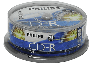 Bobina 25 CD-R - Philips CD-R CR7D5NB25/00, 700mb