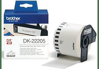 BROTHER DK-22205, Endlos-Etikett (62 mm) Endlos-Etikett Schwarz