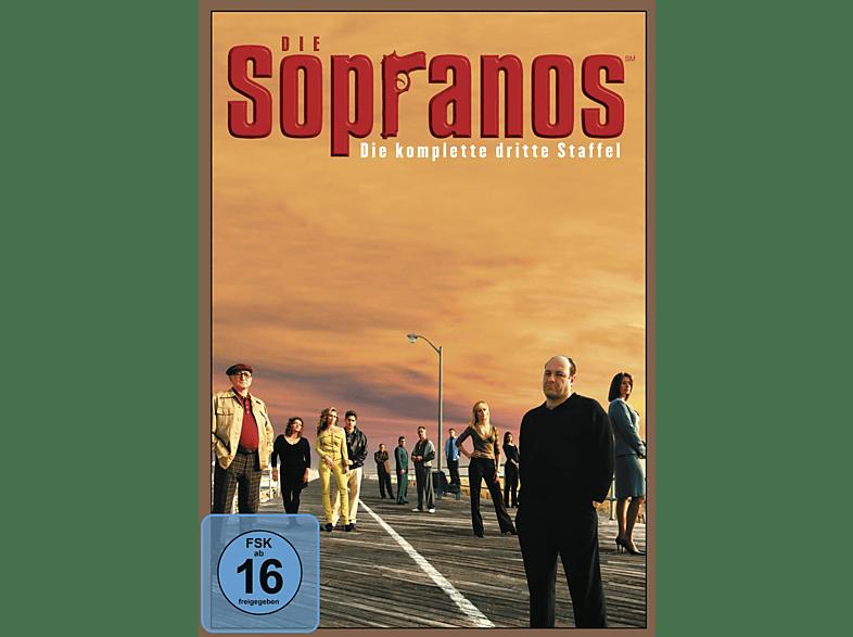 Die Sopranos - Die komplette 3. Staffel [DVD]