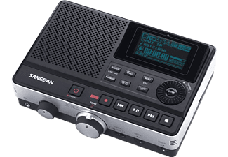 SANGEAN DAR-101 Audio-Recorder, Digital, Schwarz