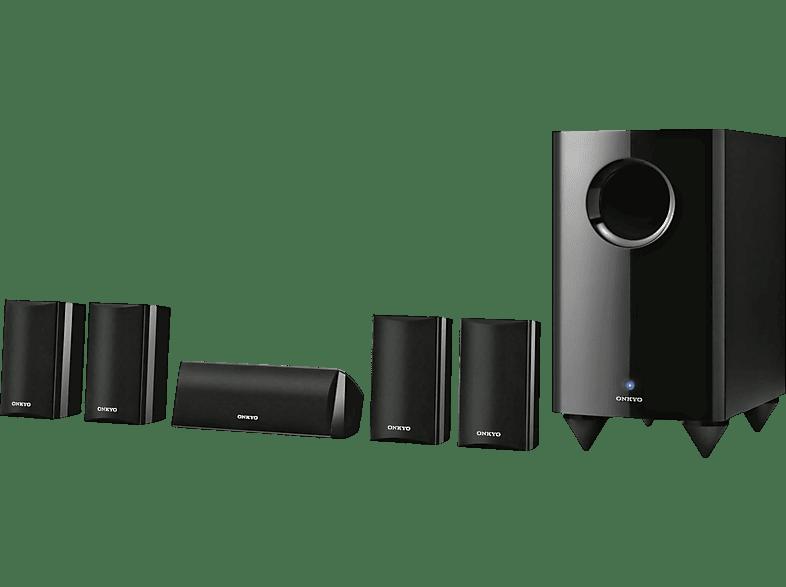 ONKYO SKS-HT528 Lautsprechersystem (5.1 Kanal, Schwarz)