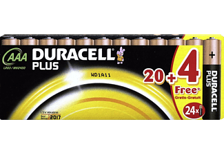 DURACELL Plus Power Alkaline AAA Batterien, 24er Pack (LR03/MN2400)