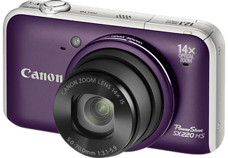 CANON PowerShot SX220 HS Paars