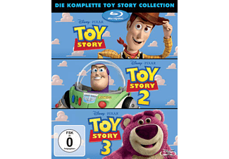 Toy Story 1-3 Collection Box [Blu-ray]