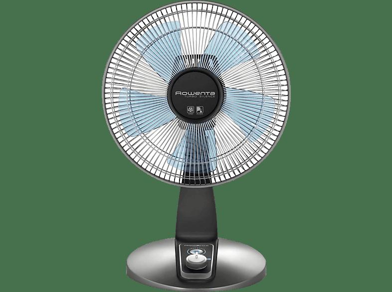 28 Watt; grau blau schwarz Rowenta VU2110 Tischventilator