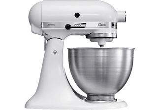 KITCHEN AID 4.3l Küchenmaschine 5K45SSEWH Weiß