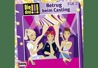 Various - Die drei !!! 02: Betrug beim Casting  - (CD)