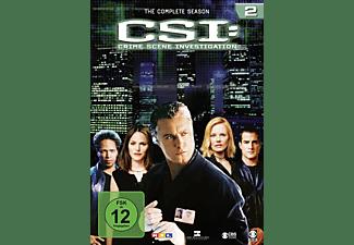 CSI: Crime Scene Investigation - Staffel 2 DVD
