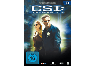 CSI: Crime Scene Investigation - Staffel 3 DVD