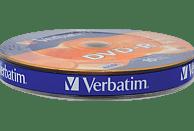 VERBATIM 43729 Matt Silber DVD-R 16X 4.7GB Rohling