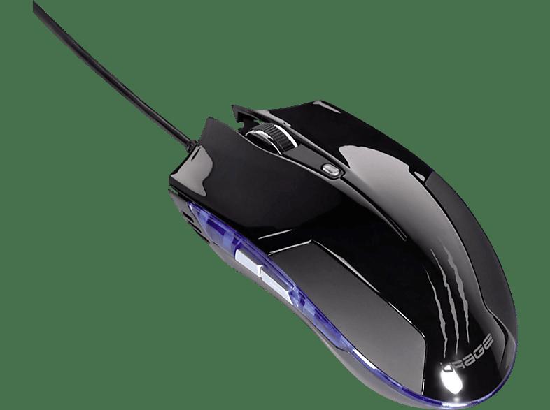 HAMA uRage PC-Maus, Schwarz