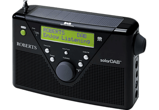 ROBERTS solarDAB 2 Digitalradio, Digital, Schwarz