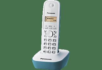 Teléfono - Panasonic KX-TG1611, Inalámbrico, Identificación de llamadas