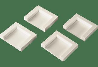 XAVAX Trocknerfixierplatten zum Aufkleben, 4er-Set