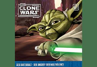 Star Wars - The Clone Wars 01: Der Hinterhalt / Der Angriff der Malevolence  - (CD)