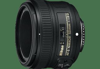 NIKON JAA015DA NIKKOR - 50 mm f/1.8 AF-S (Objektiv für Nikon F-Mount, Schwarz)