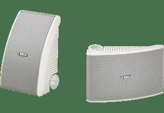 YAMAHA NS-AW392 1 Paar Outdoor Lautsprecher, Weiß