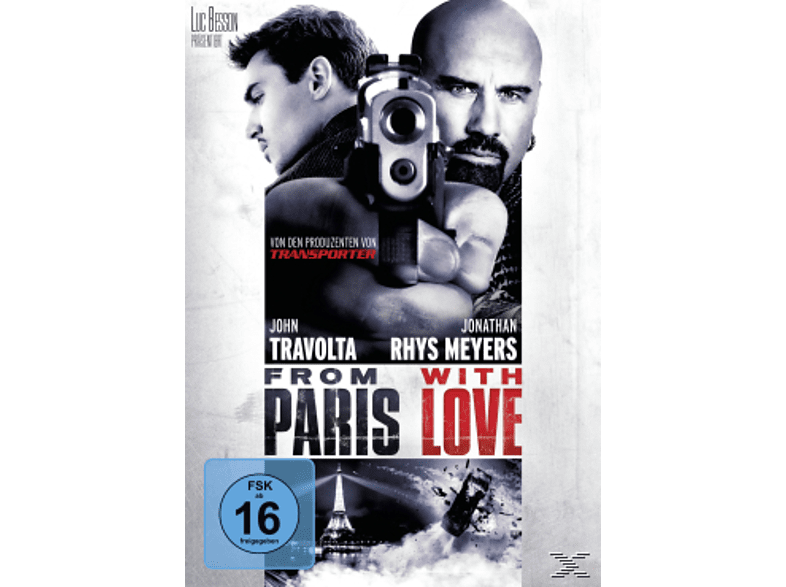 From Paris With Love [DVD]