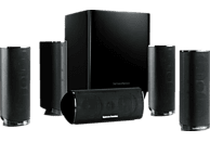 HARMAN KARDON HKTS 16 BQ Lautsprechersystem (5.1 Kanal, Schwarz)