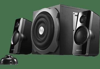 Sistema de altavoces - Woxter Big Bass 260, Sistema 2.1, 150W, Negro
