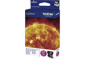 BROTHER Original Tintenpatrone Magenta (LC-980M)