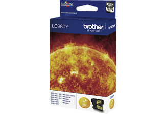 BROTHER LC980Y - Cartuccia di inchiostro (Giallo)