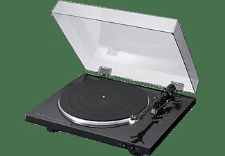Tocadiscos - Denon DP-300 Automático, Negro