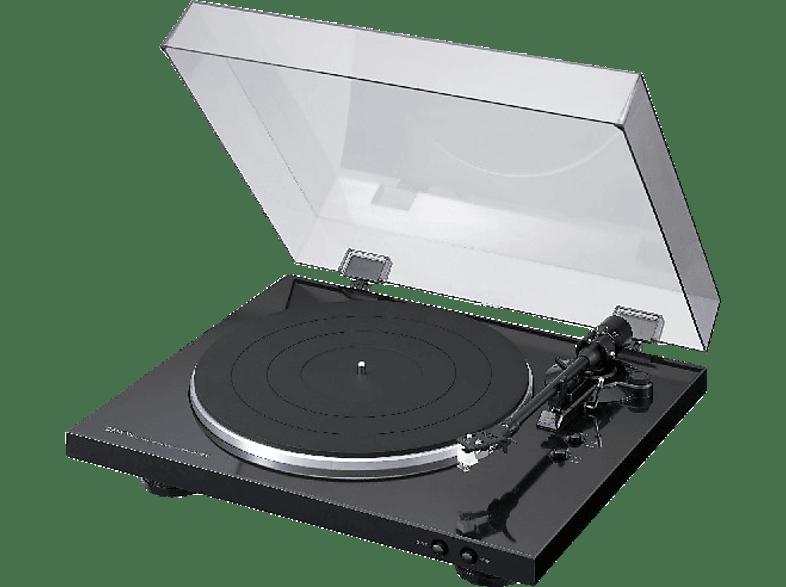 DENON DP-300F Vollautomatischer Plattenspieler (Schwarz)
