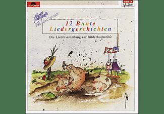Rolf Zuckowski - 12 BUNTE LIEDERGESCHICHTEN  - (CD)
