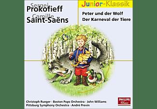 VARIOUS, RUEGER/WILLIAMS/BOSTON POPS - Peter Und Der Wolf/Der Karneval (Eloquence Junior)  - (CD)