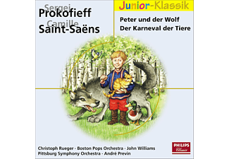 VARIOUS, RUEGER/WILLIAMS/BOSTON POPS - Peter Und Der Wolf/Der Karneval (Eloquence Junior) - (CD)