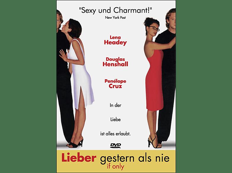 Lieber gestern als nie - If Only [DVD]