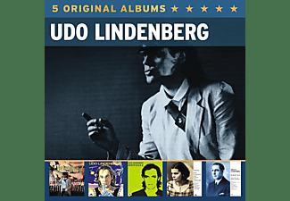 Udo Lindenberg - 5 Original Albums  - (CD)